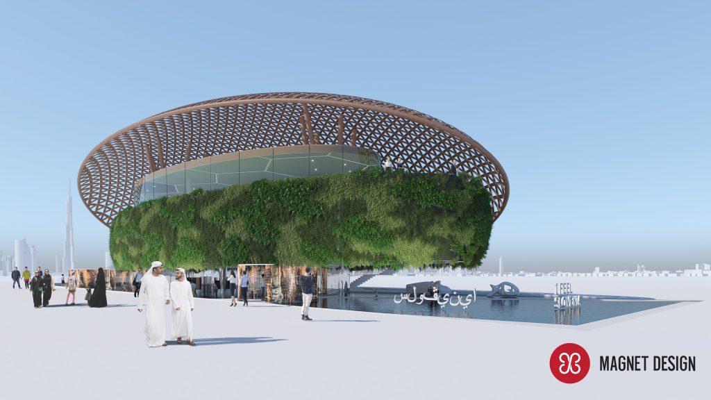 SLOVENIJA EXPO 2020 DUBAJ - MAGNET DESIGN